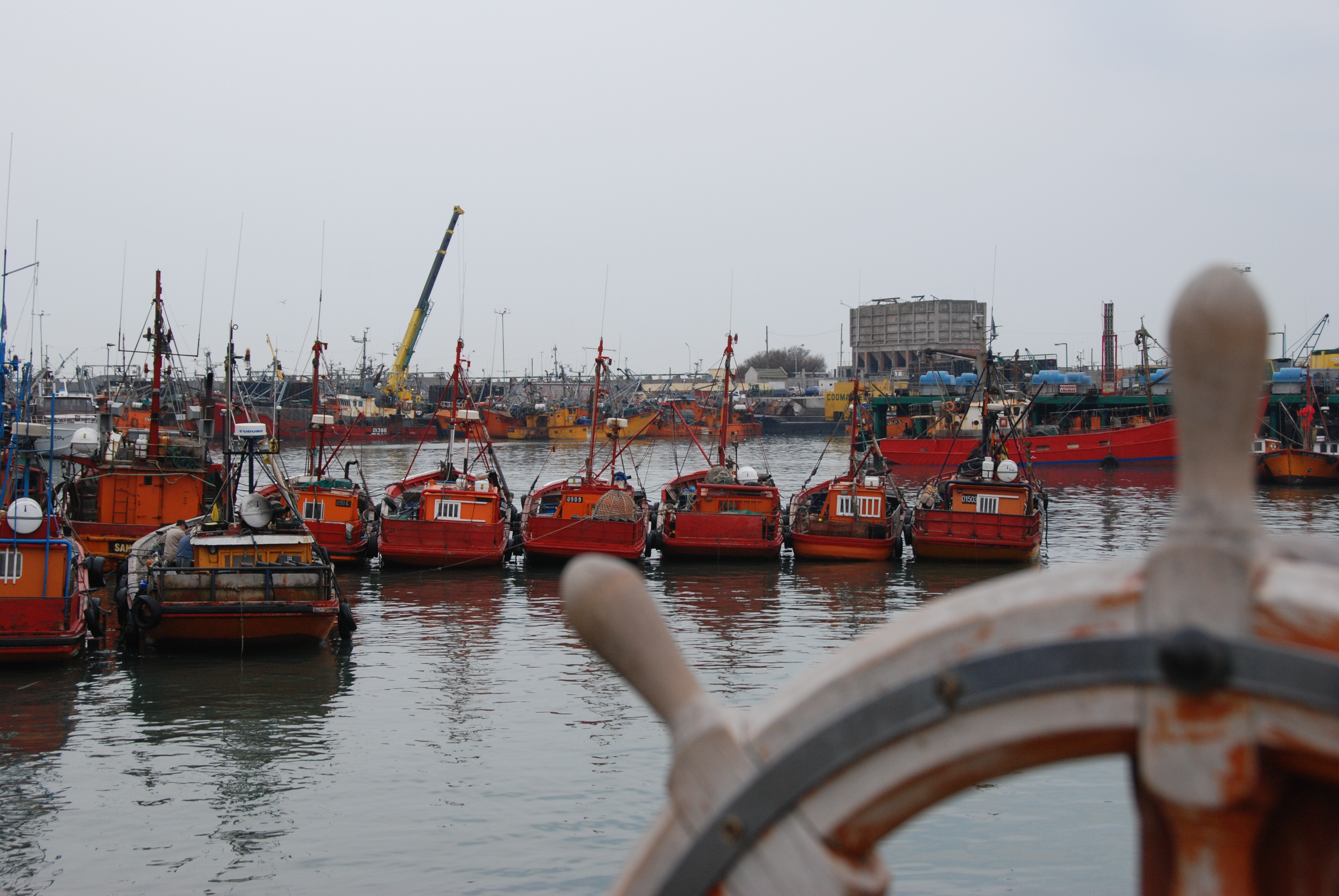 Mar del Plata, o porto