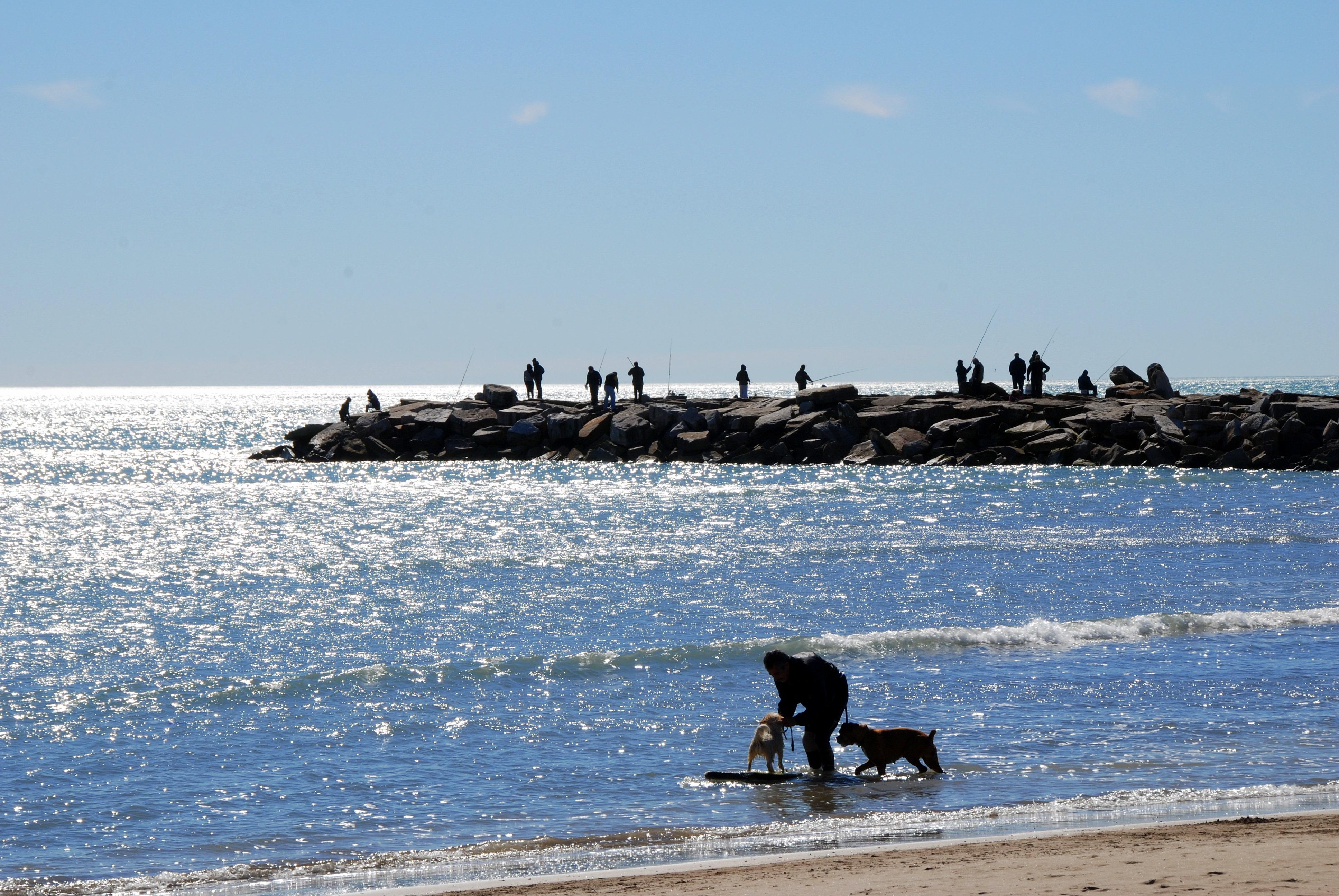 Que lindo que es estar en Mar del Plata… en alpargatas