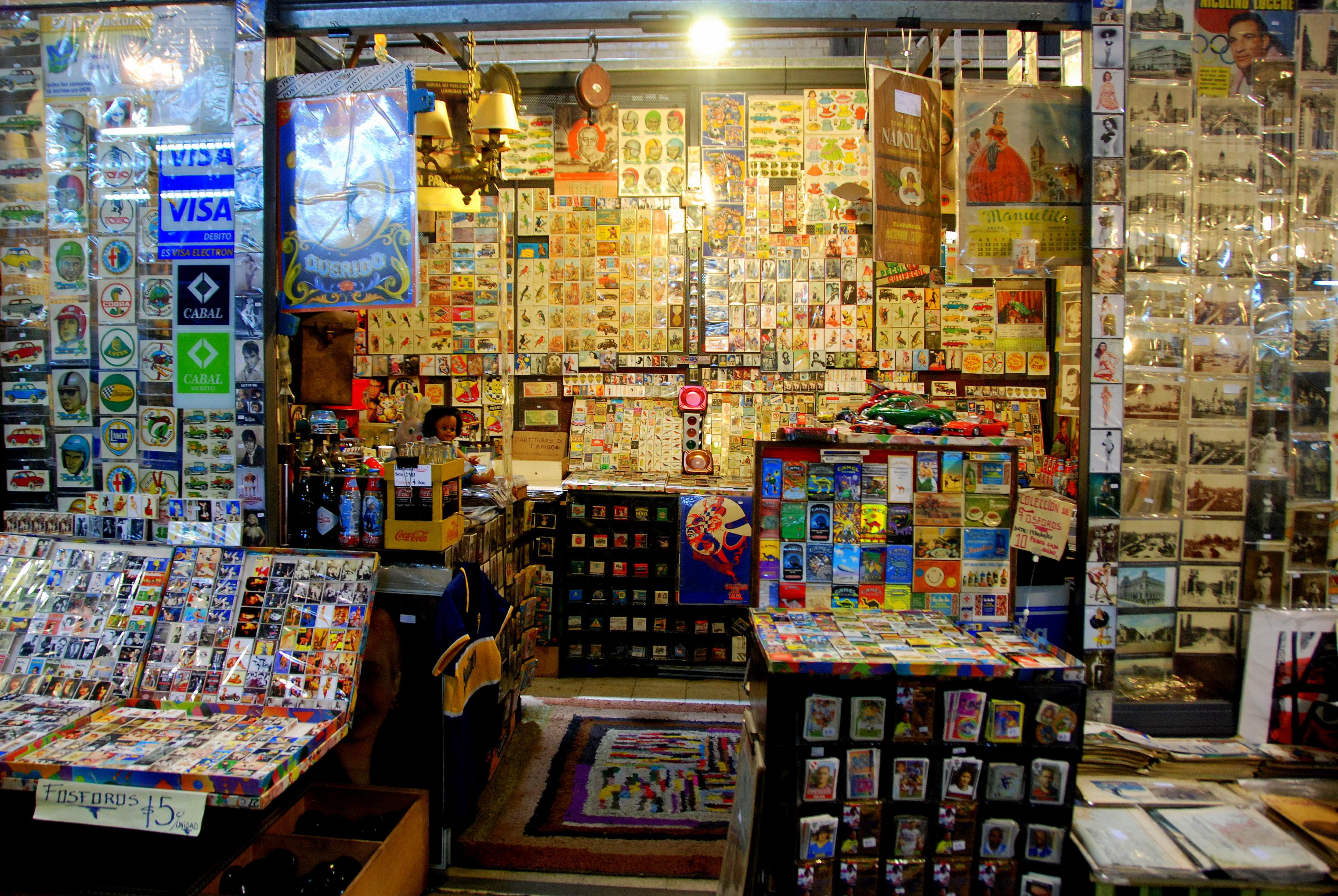 Mercado de San Telmo: mescla de texturas