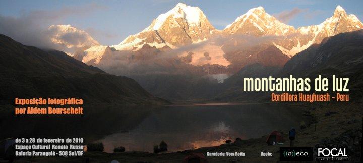 Exposição fotográfica Montanhas de luz