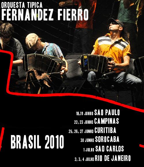 Fernandez Fierro no Brasil