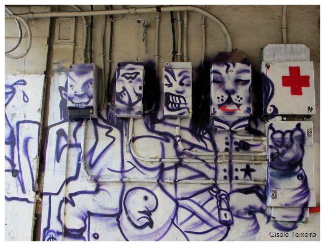 Fotografias de Paris: Caixas de luz